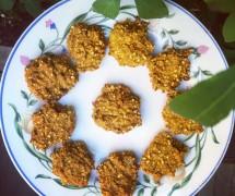 5-Ingredient Pumpkin Spice Cookies: Sugar-Free, Vegan, Nut-Free, Gluten-Free