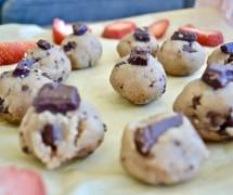 Raw Vegan Paleo Sugar-Free Cookie Dough Bites