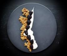Black Magic Coconut Yogurt Parfait With Activated Buckwheat Granola