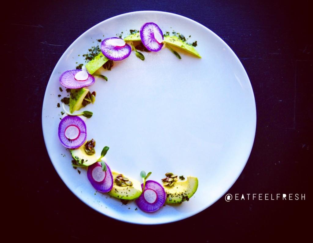 eat feel fresh avocado crescent moon raw vegan recipe