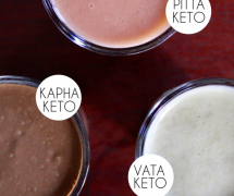 Three Ketogenic and Ayurvedic Smoothies For Each Dosha