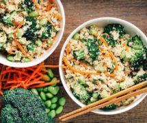 "Easy Ayurvedic Cauliflower ""Fried-Rice""- Vegan and Paleo. Part of Sahara's 31 Day Transformation Challenge"